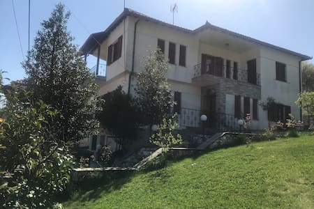 Elena's Home: Enjoy the imposing Mount Olympos