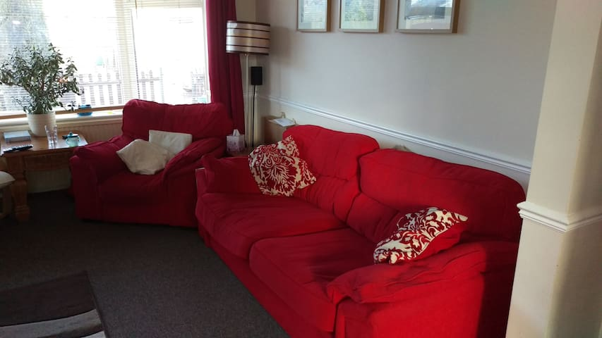 Sofa in family home - East Riding of Yorkshire - House