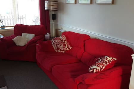 Sofa in family home - East Riding of Yorkshire