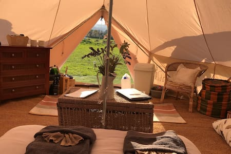 Bedw Snowdonia Glamping Bell Tent