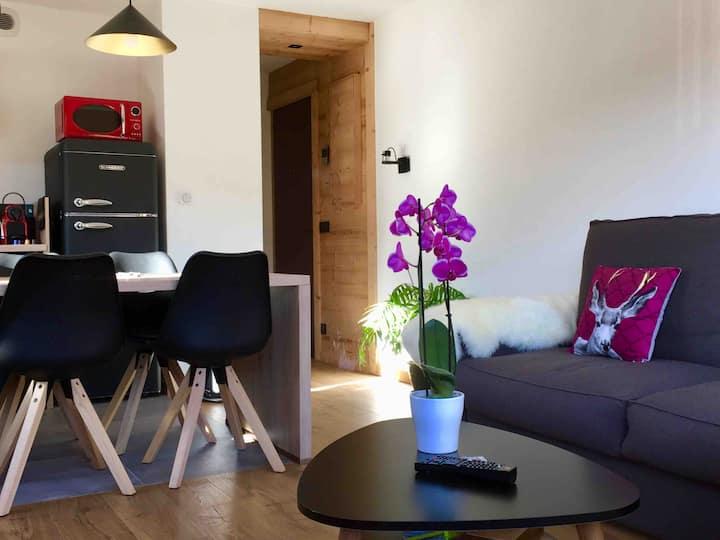 Appartement 1ch Tournette C avec vue montagne 3*