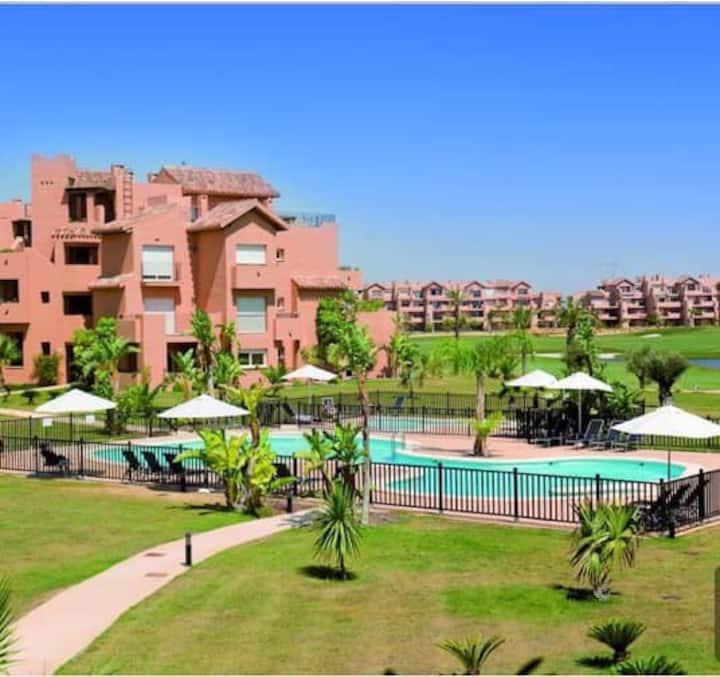 Superb modern apartment, Mar Menor Golf Resort
