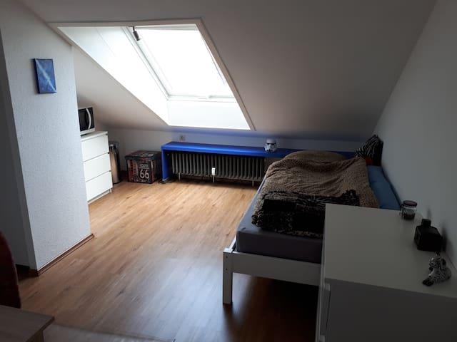 1-Zimmer Wohnung in Stuttgart (für Studentin)