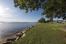 Are you looking for a Picnic spot,BBQ area, playground or jetty for good fishing? Check out Pelican Foreshore Reserve!