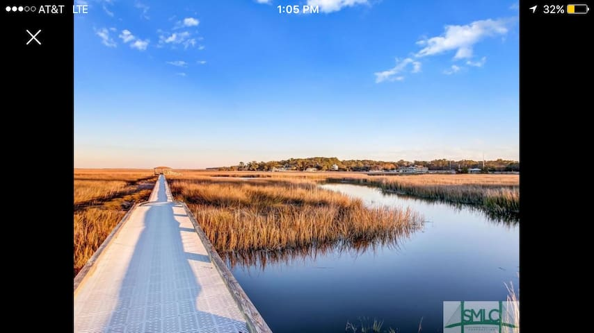 The Dock House/3br/Dock/close to Downtown & Tybee