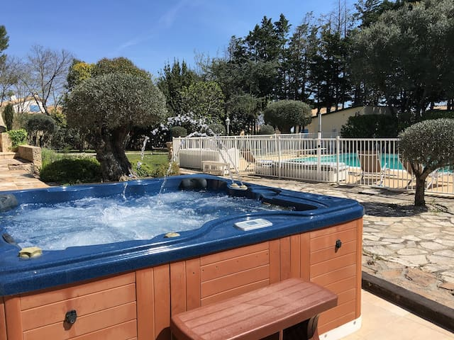 Appartment Pool Spa (private villa) - Murviel-lès-Montpellier - Apartment