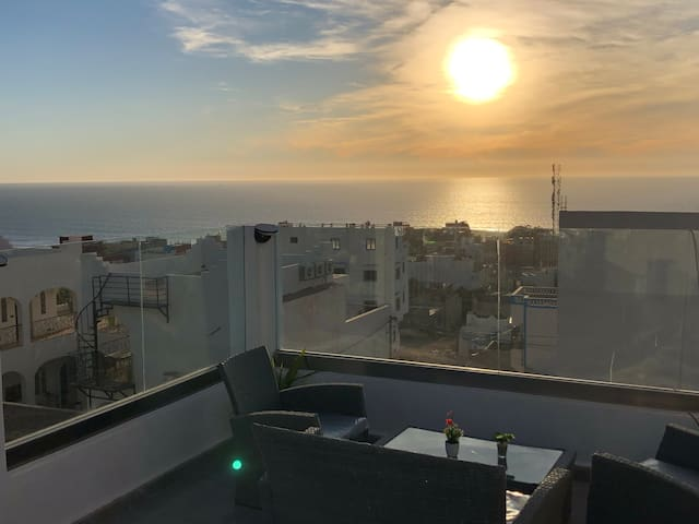 Maison neuve vue mer panoramique