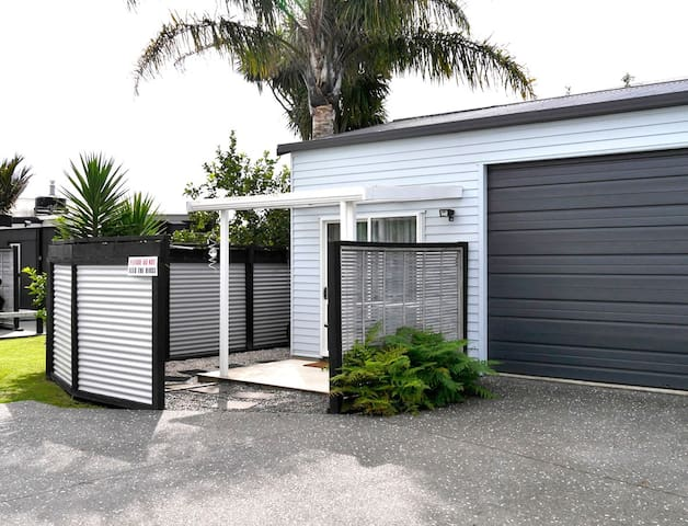 Whitianga close to town, comfortable and clean.