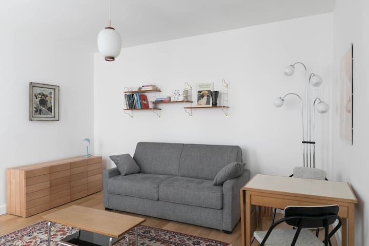 ★ Cozy apt in a typical area near Montmartre