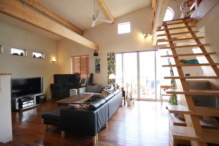 Shonan Family Home Getaway Near Beach - Chigasaki-shi - House