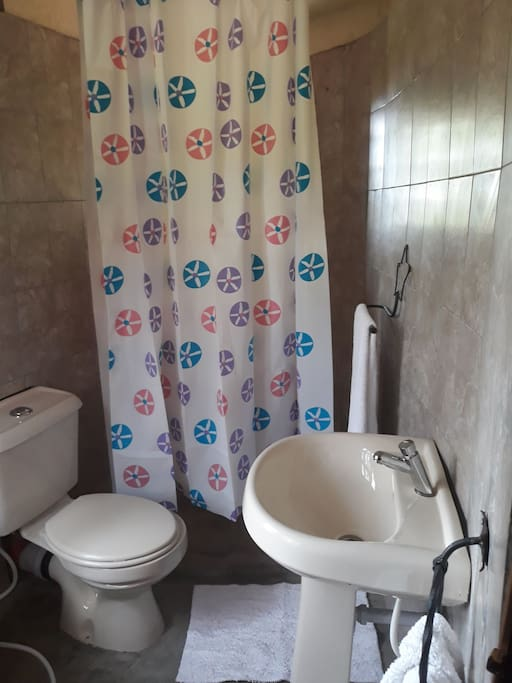 bathroom in the rooms