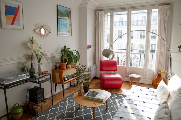 Cosy and spacious appartment - Montmartre  (55m2)