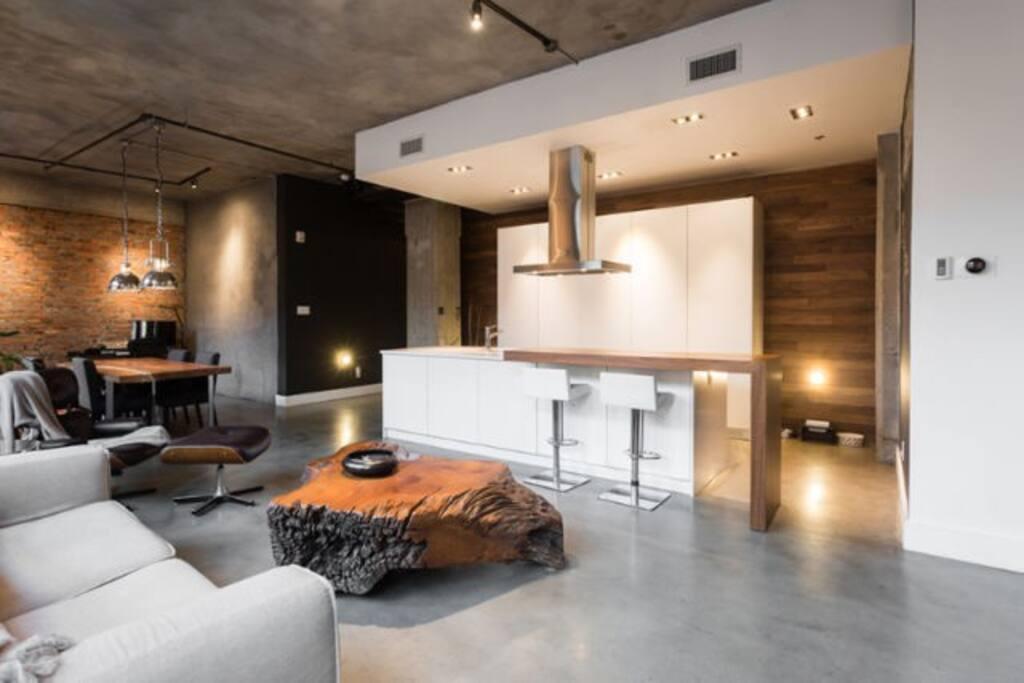 Designers modernist loft old port appartements louer - Appartement a louer vieux port montreal ...