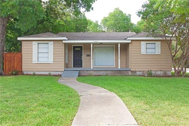 Remodeled House in the Heart of Dallas - Dallas - Casa