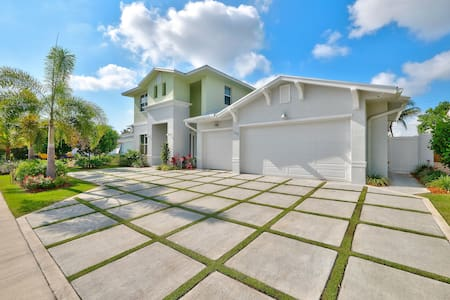 5 Star 5 Bedroom Waterfront Paradise - West Palm Beach - Huis