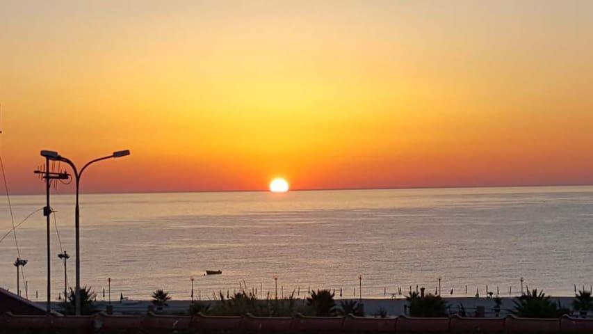 L'alba sullo Ionio