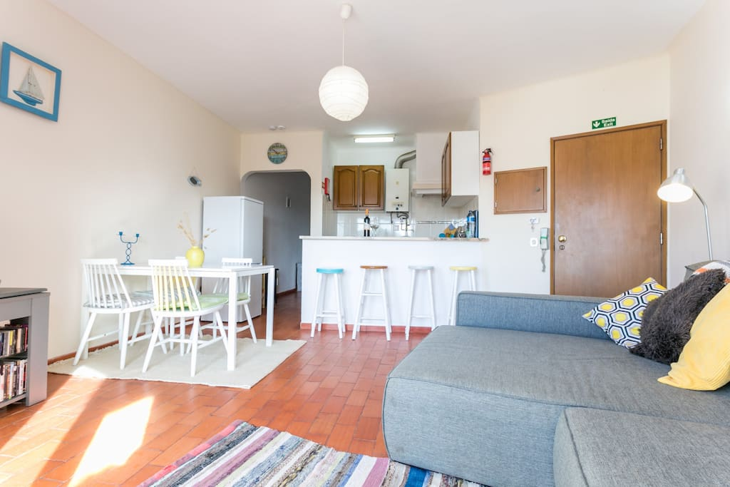 Indoor dining for 4/6 Open plan, sociable kitchen with a view