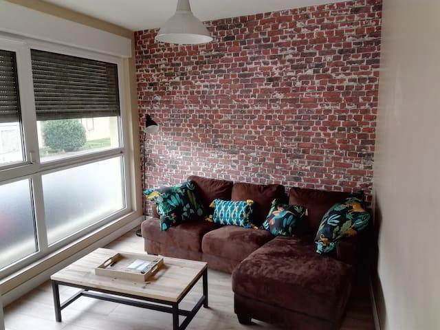 Appartement neuf 51 m² 3 min Gare proche centre