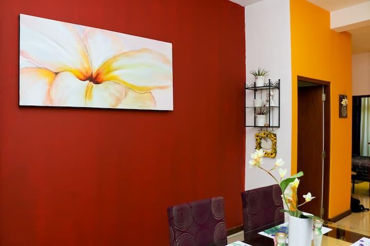 Studio Frangipani - 1 BR Stylish Apt - Colombo 5