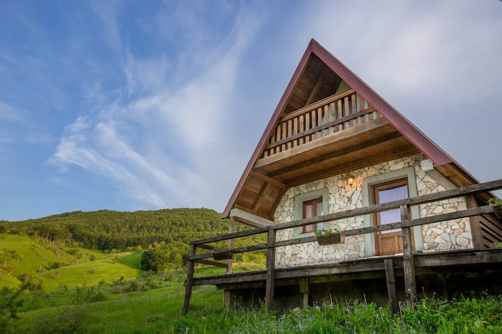 Etno VIllage Vojnik - Family Bungalow with Terrace