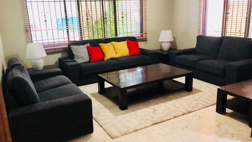 Spacious and Comfortable 4 bedroom guest house