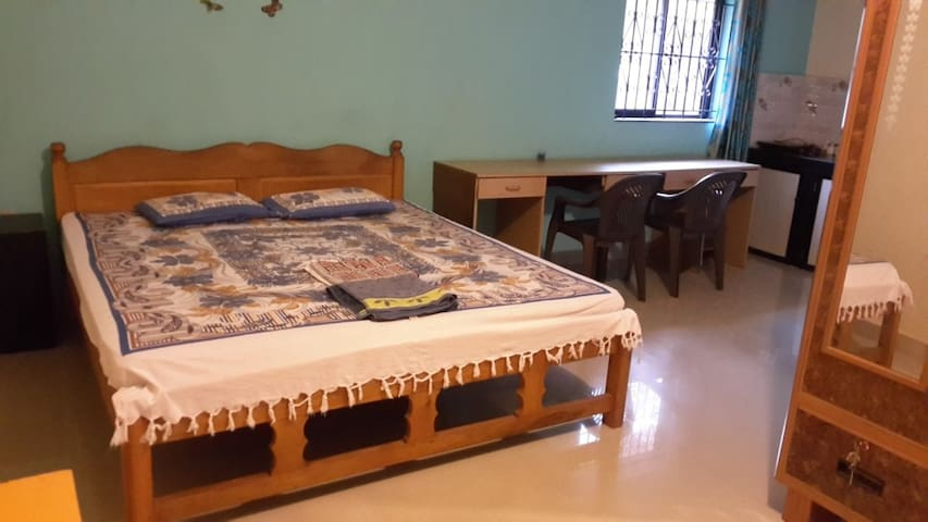 Comfortable Studio near Anjuna Beach for 3 guests - Anjuna - Daire