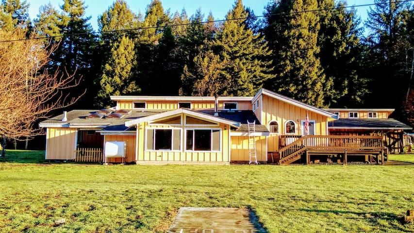 3 tworoomhome quiet ranch大套房在红木国家公园 - Crescent City - Rumah
