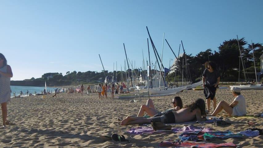 Grand app. Pornichet, St Marguerite, accès plage