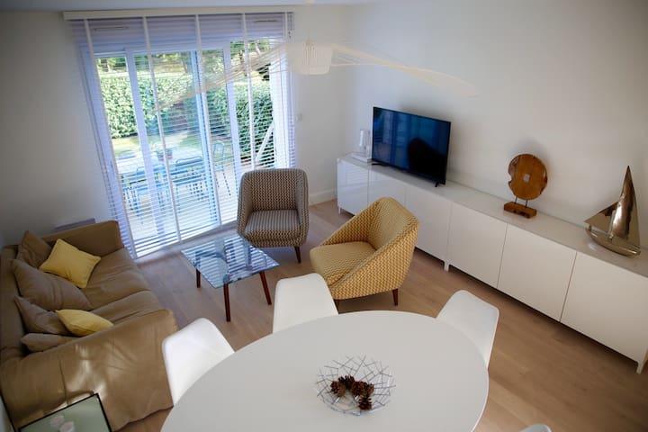 Jolie maison lumineuse sur les dunes, wifi gratuit - Le Touquet-Paris-Plage - Dům