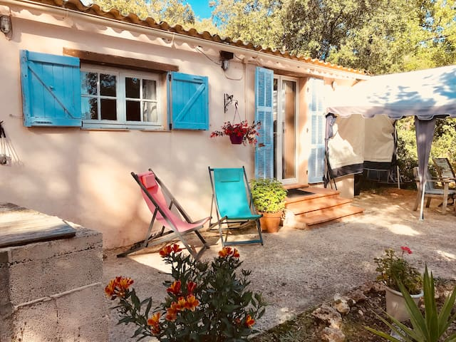 Country cabin in heart of Provence near amenities