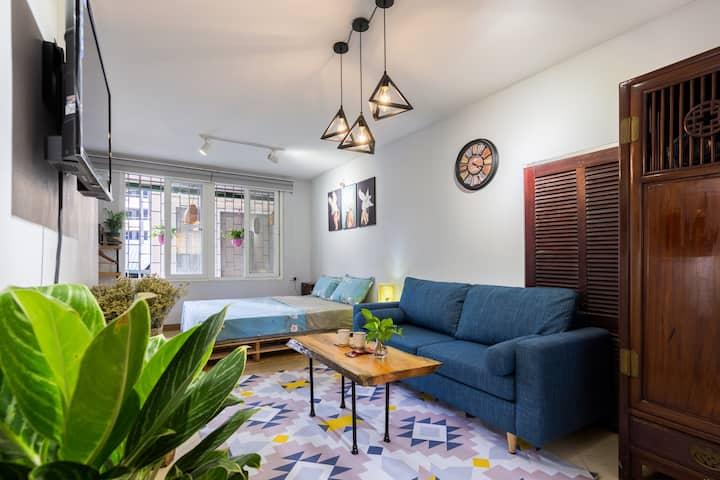 Spacious/cozy/comfy room, centre Hoan Kiem- BR#201