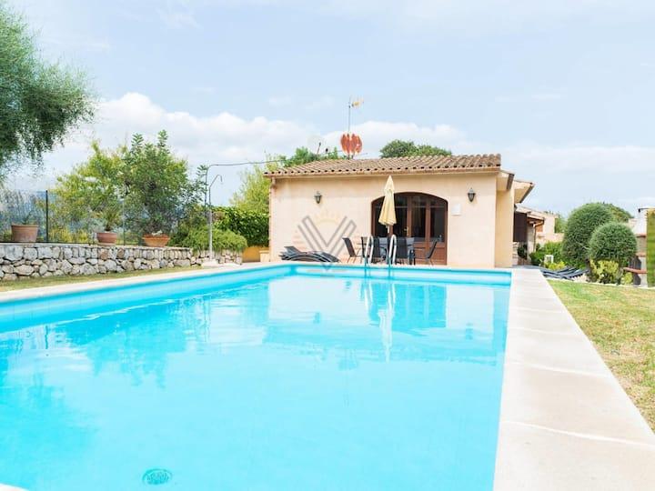 Ca'n Bajoca I, villa in Pollensa, Mallorca