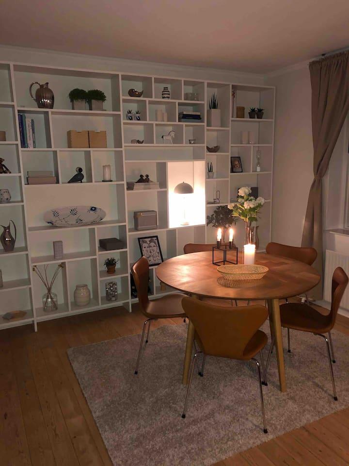 2 room apartment in Aarhus centrum