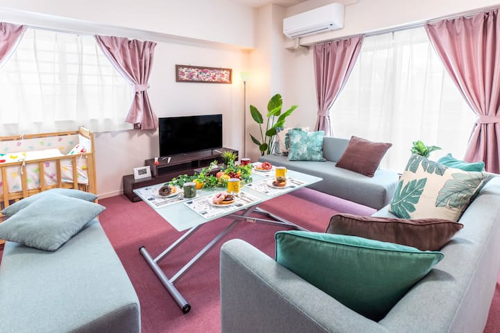 ★NEW★ NEAR THE BEACH! GREAT FOR FAMILY WITH BABY3F