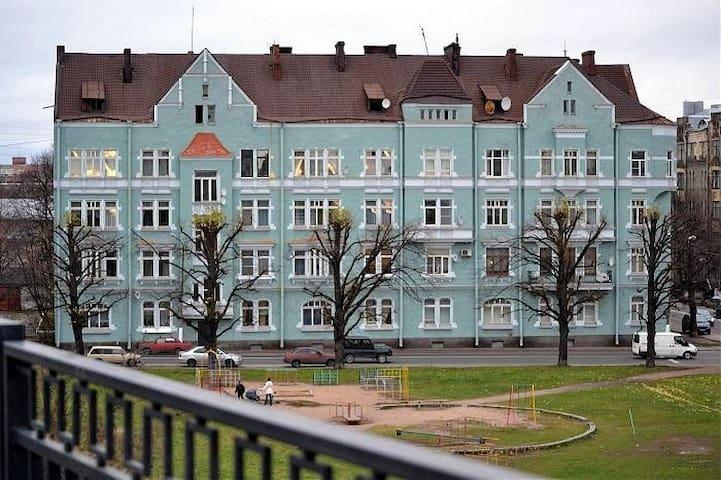 Квартира в хорошем финском доме. - Vyborg - Apartemen