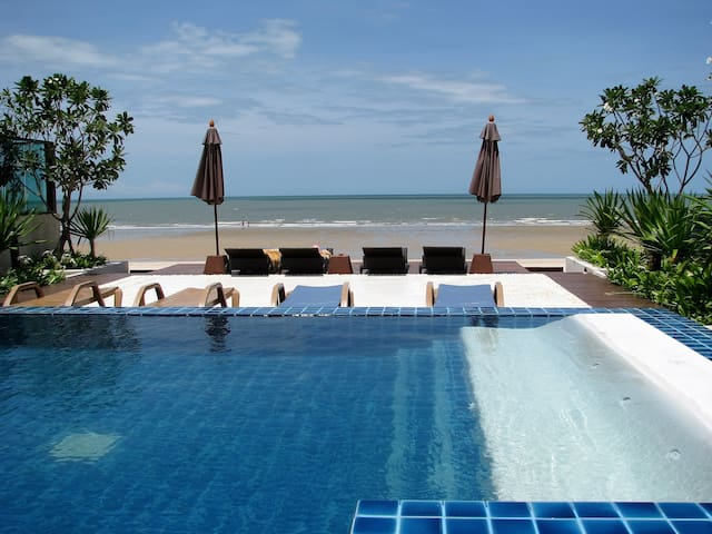 The Vimanlay Service Apartment (Beachfront) - Tambon Cha-am - (ไม่ทราบ)