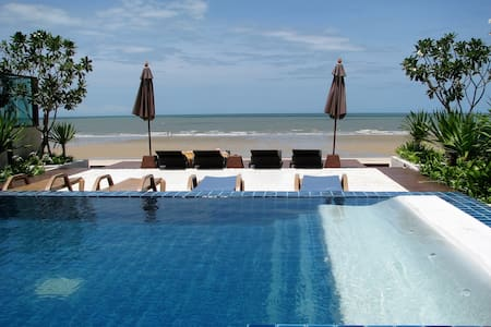 The Vimanlay Service Apartment (Beachfront) - Tambon Cha-am - Departamento
