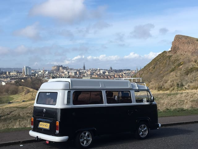 Classic VW Kombi available in Edinburgh, Scotland