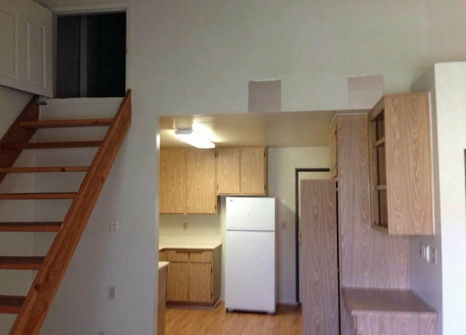 阁楼超大储存空间