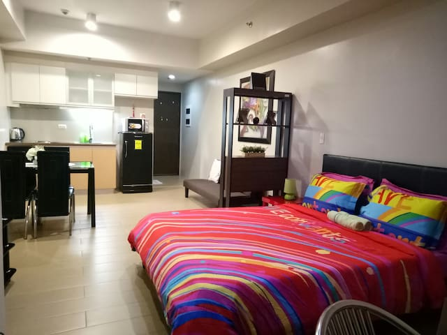 (D)UNIT/COZY&CLEAN/FREE ACCESS TO WIFI&POOL AREA!!