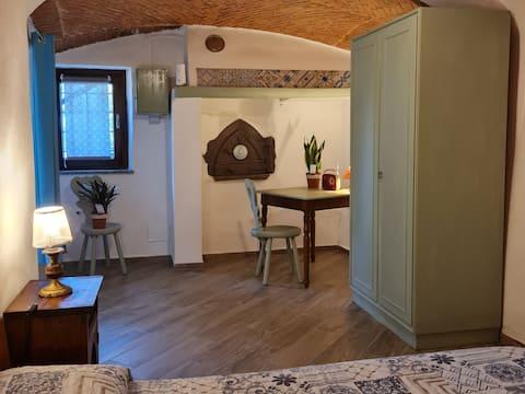 Dzīvoklis Castellamonte ieskauj zaļums