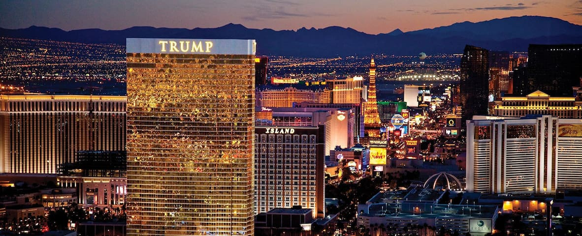 Trump Tower on the Las Vegas Strip
