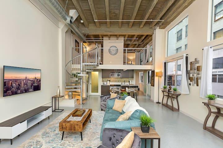 Modern Luxurious Loft in The Heart of Downtown LA