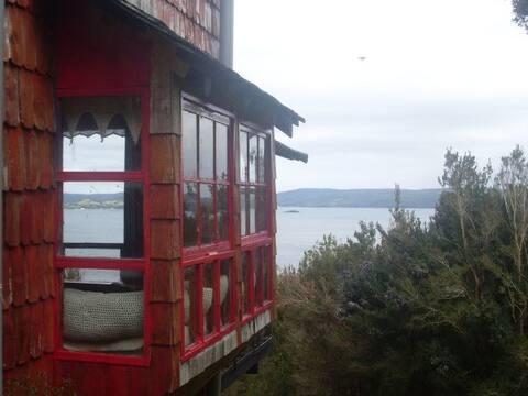 Chiloe, cabaña Tonina