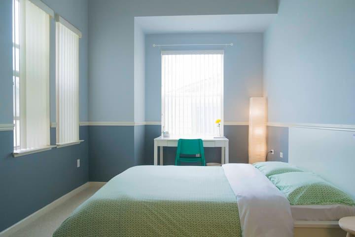 MasterBedroom+Private Bath+Free Parking+10 Min SFO