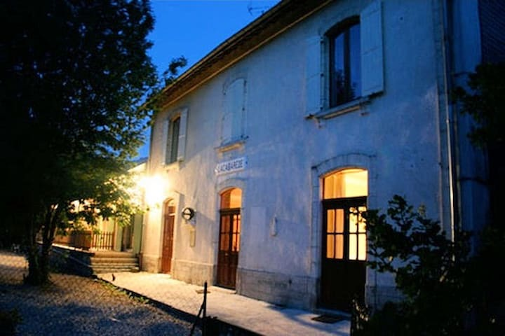 B&B in an old train station w pool - Saint-Amans-Soult - Pousada