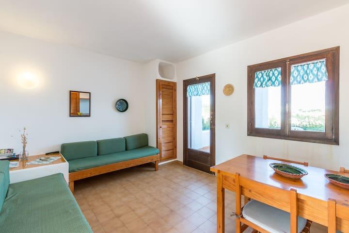 Apartamento 2 dorm vista mar - Cala Morell - Ciutadella - Appartement