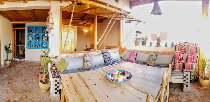 Luxurious Berber Apartment 1+ stunning 360 rooftop
