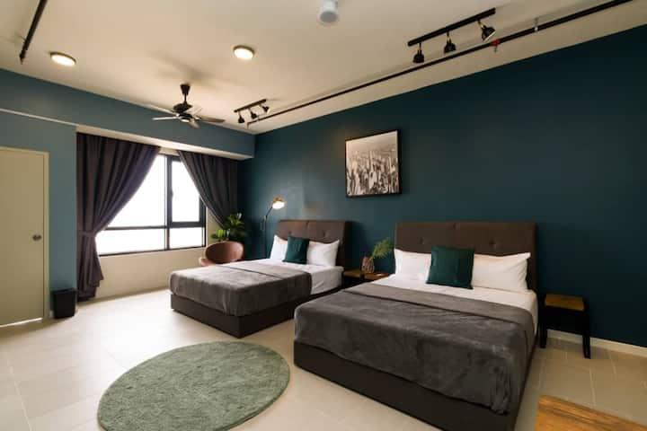 Cyberjaya ID design studio, hotel liked apt
