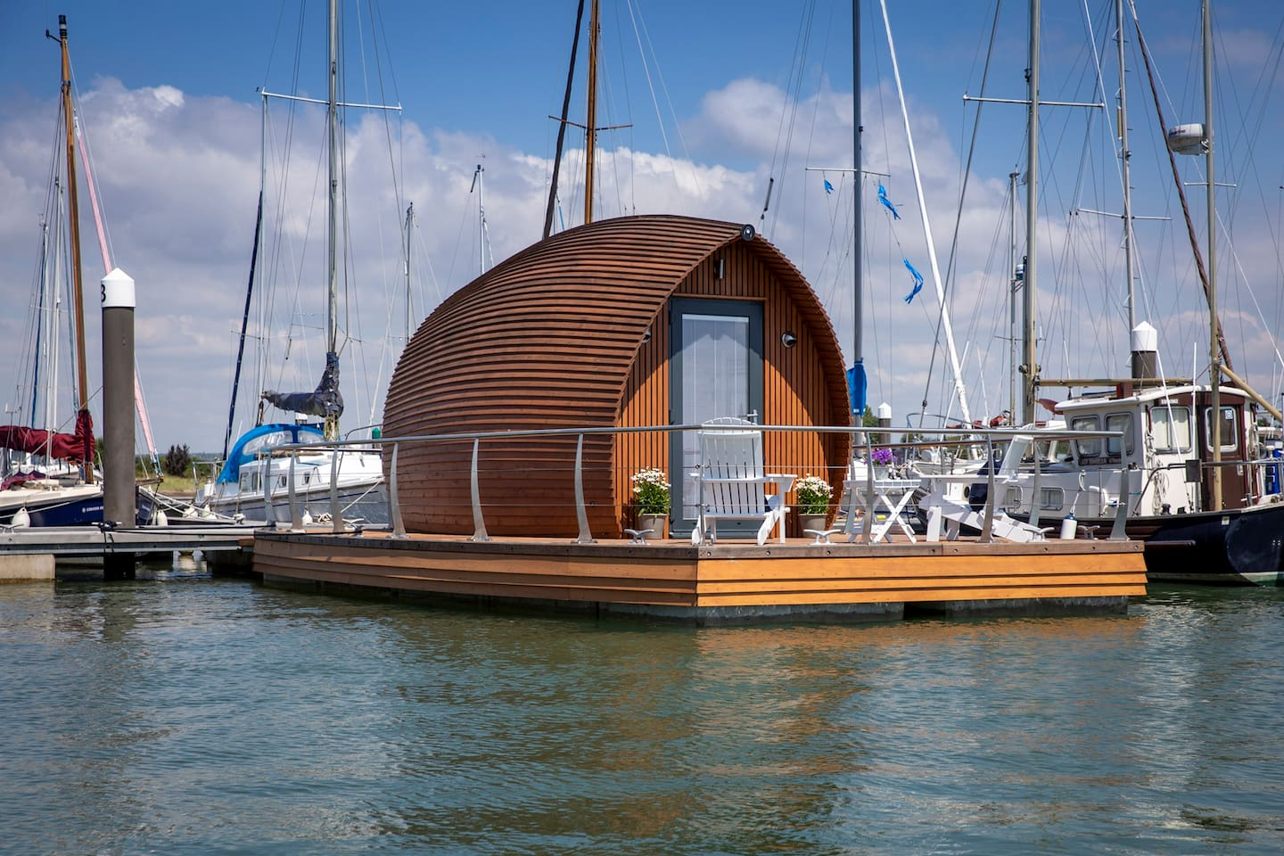 The beautiful Ark 900 in Chichester Harbour AONB. Emsworth